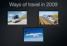 Ways of travel 2009