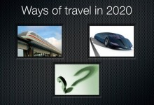 Ways of travel 2020